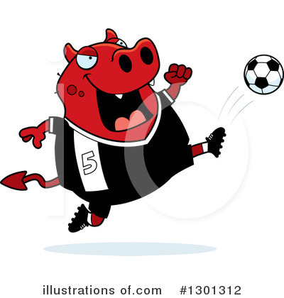 Royalty-Free (RF) Devil Clipart Illustration by Cory Thoman - Stock Sample #1301312