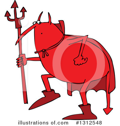 Devil Clipart #1312548 by djart