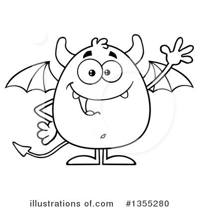 Devil Clipart #1355280 by Hit Toon