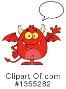 Devil Clipart #1355282 by Hit Toon