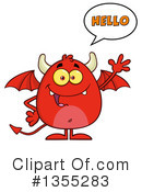 Devil Clipart #1355283 by Hit Toon