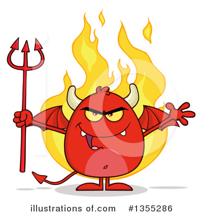 Devil Clipart #1355286 by Hit Toon