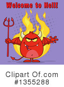 Devil Clipart #1355288 by Hit Toon