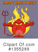 Devil Clipart #1355289 by Hit Toon