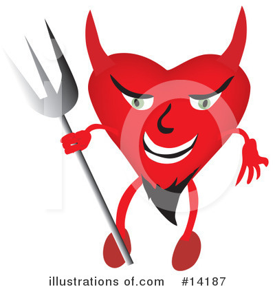 Royalty-Free (RF) Devil Clipart Illustration by Rasmussen Images - Stock Sample #14187