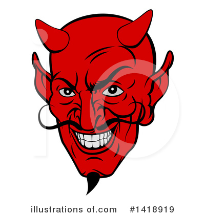 Devil Clipart #1418919 by AtStockIllustration