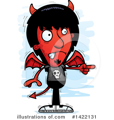 Devil Clipart #1422131 by Cory Thoman