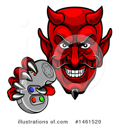 Devil Clipart #1461520 by AtStockIllustration
