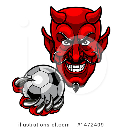 Devil Clipart #1472409 by AtStockIllustration