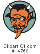 Royalty-Free (RF) devil Clipart Illustration #14760