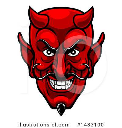 Devil Clipart #1483100 by AtStockIllustration