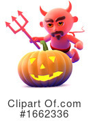 Devil Clipart #1662336 by Steve Young