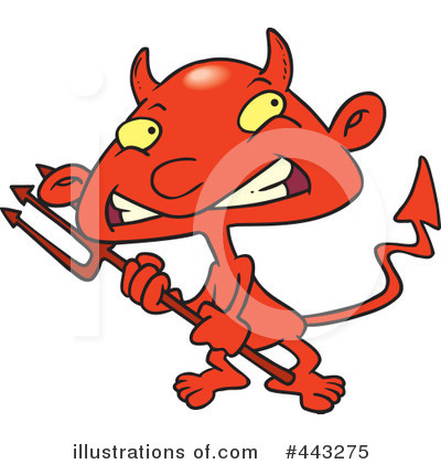 Devil Clipart #443275 by toonaday