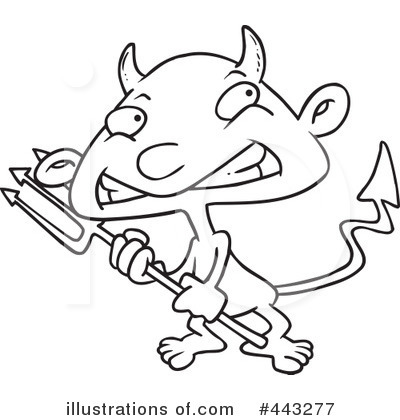 Devil Clipart #443277 by toonaday