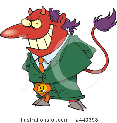 Devil Clipart #443393 by toonaday