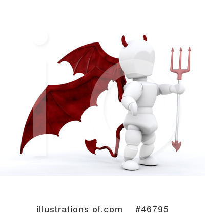 Demon Clipart #46795 by KJ Pargeter
