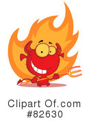 Devil Clipart #82630 by Hit Toon