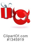 Devil Head Clipart #1345919 by Julos