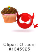 Devil Head Clipart #1345925 by Julos