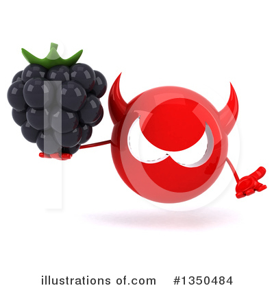 Blackberry Clipart #1350484 by Julos