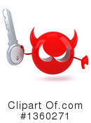 Devil Head Clipart #1360271 by Julos