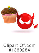 Devil Head Clipart #1360284 by Julos