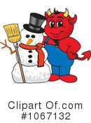 Devil Mascot Clipart #1067132 by Toons4Biz