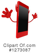 Devil Smart Phone Clipart #1273087 by Julos