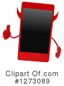 Devil Smart Phone Clipart #1273089 by Julos