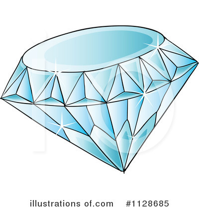 Diamond Clipart #1128685 by Graphics RF