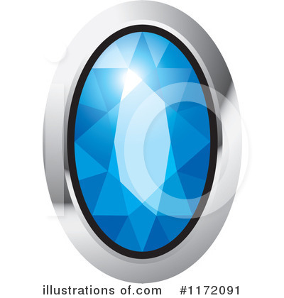 Royalty-Free (RF) Diamond Clipart Illustration by Lal Perera - Stock Sample #1172091