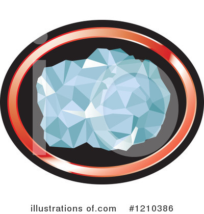 Royalty-Free (RF) Diamond Clipart Illustration by Lal Perera - Stock Sample #1210386