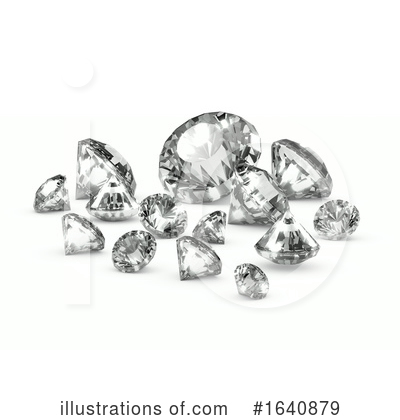 Royalty-Free (RF) Diamond Clipart Illustration by Steve Young - Stock Sample #1640879