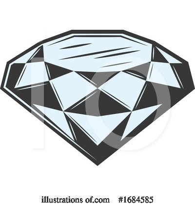 Diamond Clipart #1684585 by Vector Tradition SM