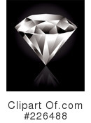 Royalty-Free (RF) Diamond Clipart Illustration #226488
