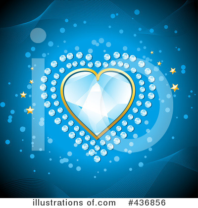 Diamond Heart Clipart #436856 by elaineitalia
