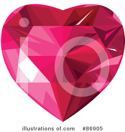 Diamond Heart Clipart #86905 by Pushkin