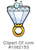 Royalty-Free (RF) Diamond Ring Clipart Illustration #1062153