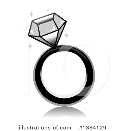 Wedding Ring Clipart #1384129 by BNP Design Studio