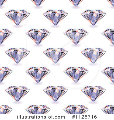 Royalty-Free (RF) Diamonds Clipart Illustration by michaeltravers - Stock Sample #1125716