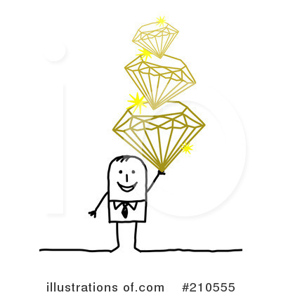 Diamonds Clipart #210555 by NL shop