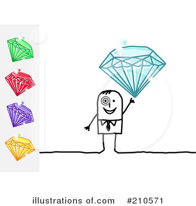 Diamonds Clipart #210571 by NL shop