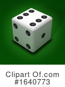 Dice Clipart #1640773 by Steve Young