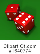 Dice Clipart #1640774 by Steve Young