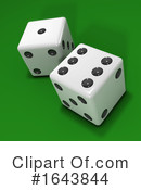 Dice Clipart #1643844 by Steve Young