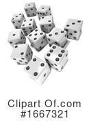 Dice Clipart #1667321 by Steve Young