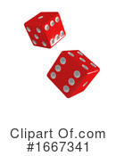 Dice Clipart #1667341 by Steve Young