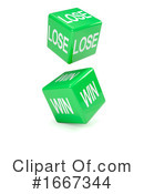 Dice Clipart #1667344 by Steve Young