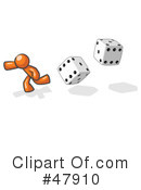Dice Clipart #47910 by Leo Blanchette