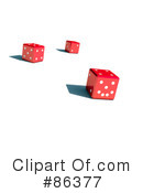 Royalty-Free (RF) dice Clipart Illustration #86377